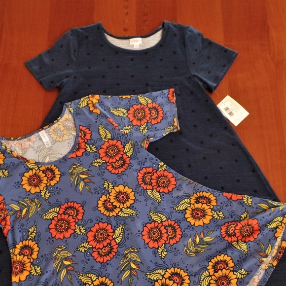 LULAROE Other - LULAROE OUTFIT! M- CARLY DRESS & M- PERFECT-T TOP